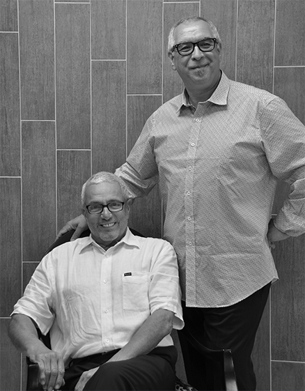 Andre and Philip, owners of Andre Philips Hair Salon